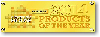 Hunter Douglas wins Electronic House 2014 Product of the Year Award. Click on this image for more information.