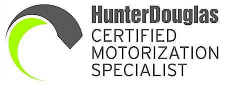 Blind Alley is proud to be recognized as one of the select Certified Hunter Douglas Motorization Specialists in the Seattle area. Our automation solutions work with every Hunter Douglas motorized application and integrate with home automation systems.